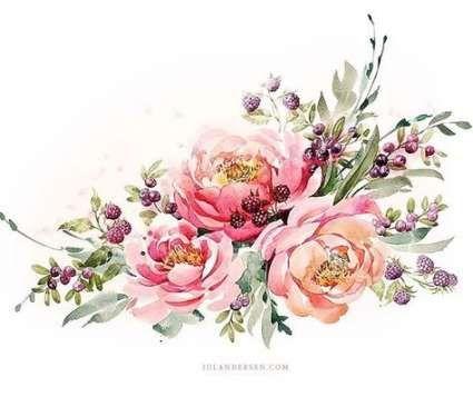 Flowers Roses Illustration Inspiration 41 Ideas For 2019 Flower Art Vintage Flower Tattoo Watercolor Rose Tattoos
