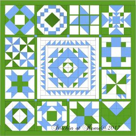 Stitchin At Home Medallion Quilt Bom Mystery Quilt Patterns Quilt Guild Programs Medallion Quilt