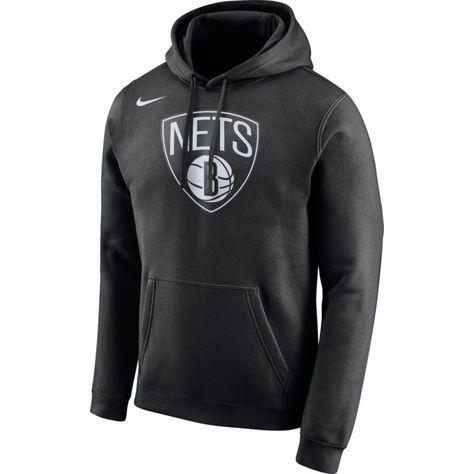 Nike Men's Brooklyn Nets Club Black