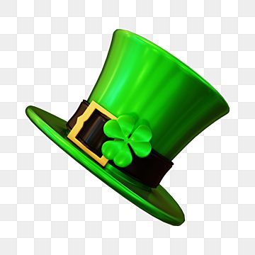 St Patricks Day 3d Render Of Green Leprechaun Hat St Patrick Hat Green Hat Png Transparent Clipart Image And Psd File For Free Download In 2021 St Patricks Day Leprechaun Leprechaun Hats