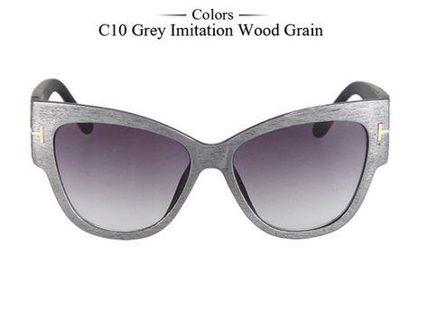 994f2efcc7 New Fashion Brand Designer Tom Cat Eye Sunglasses Women Oversized Frame  Vintage Sun Glasses oculos de sol UV400 MA092