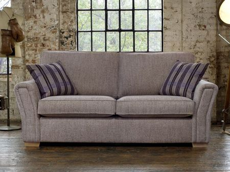 Verona Three Seater Sofabed With Crown