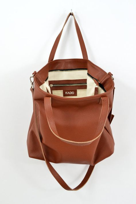 0c779dc998eac LEATHER TOTE bag