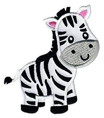 Animal Applique for Kids PatchMommy Zebra Iron On Patch