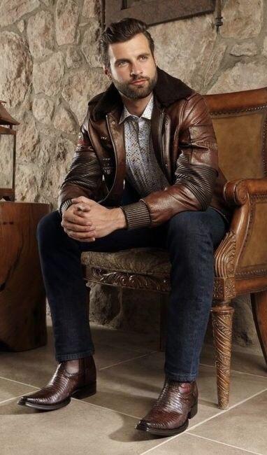 Mens Cowboy Boots Fashion
