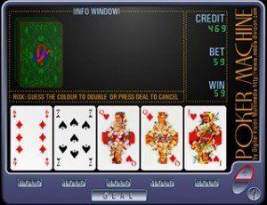 Jeu de poker machine gratuit