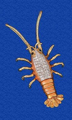 Fine Sterling Silver Anchor Marlin Diamond Cut Pendant Necklace