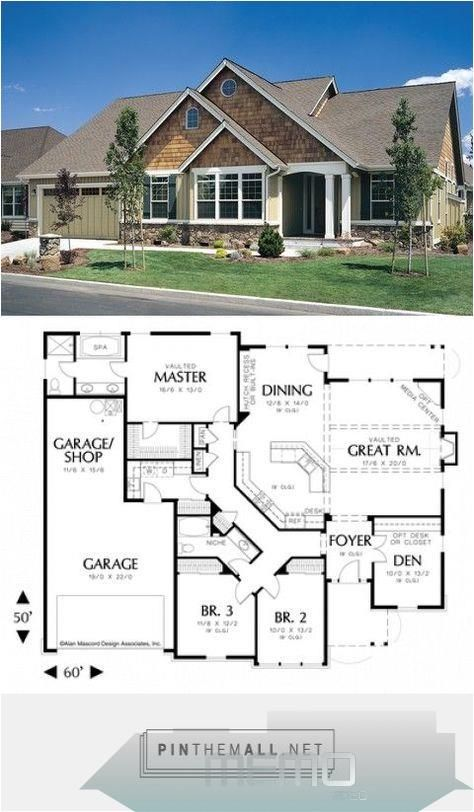 Dec 25 2017 Love This House Plan 1231 The Galen Floor Plan Details Created Via Https Pinthem Ranch Style House Plans New House Plans Craftsman House