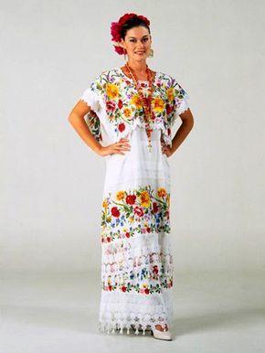 Traje Típico En 2019 Vestidos Mexicanos Tradicionales