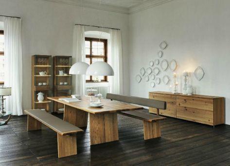 Wooden furniture in a Contemporary Setting | Interior Design ...