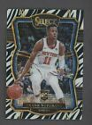2017-18 Select Zebra Prizm #185 Frank Ntilikina Knicks RC Case Hit SP #Basketball