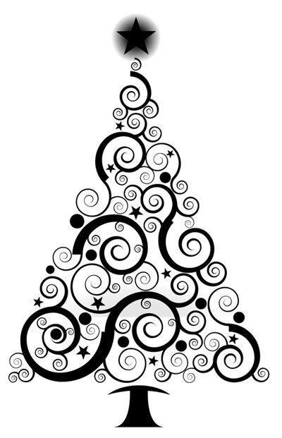Sapin De Noël Pochoir Noel Dessin Sapin De Noel Et Dessin