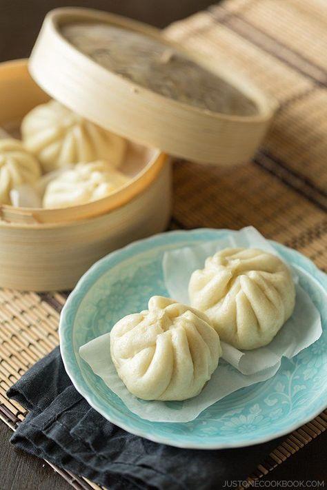 Nikuman (Steamed Pork Buns) | Easy Japanese Recipes at JustOneCookbook.com