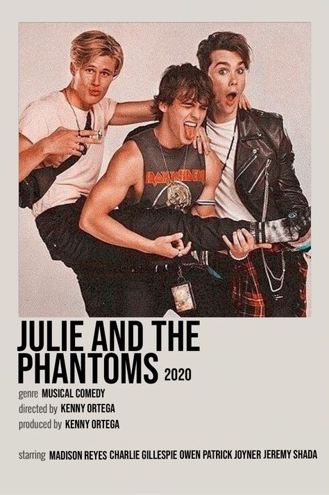 julie and the phantoms film poster