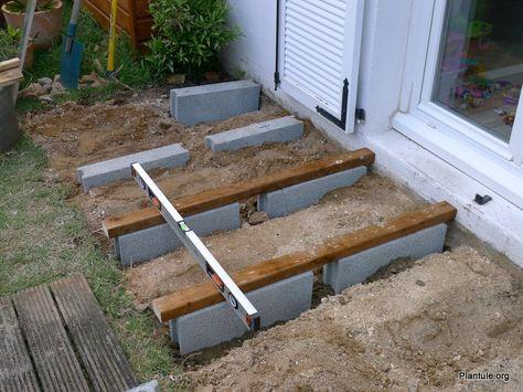 Monter une terrasse en bois sur un sol stable Pergolas
