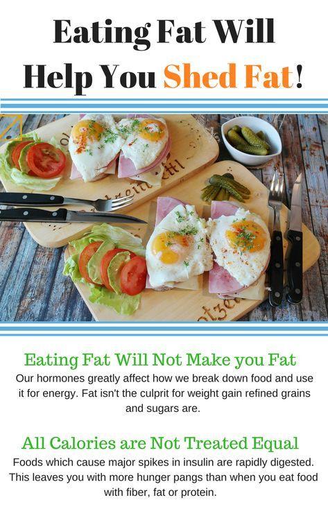 Eating fat make me lose weight