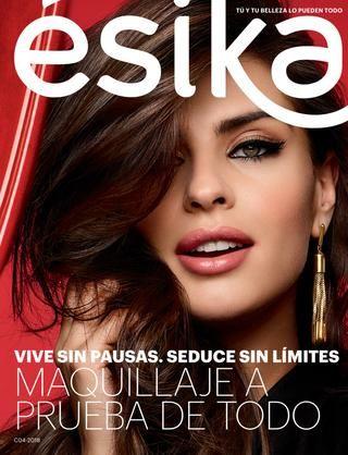 Catálogo ésika México C04 Maquillaje Belleza Libros