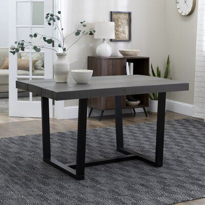 Union Rustic Marine Distressed Solid Wood Dining Table Top Color