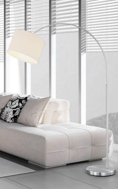 Lampa Podłogowa Hotel 461100101 Biała Trio Oświetlenie