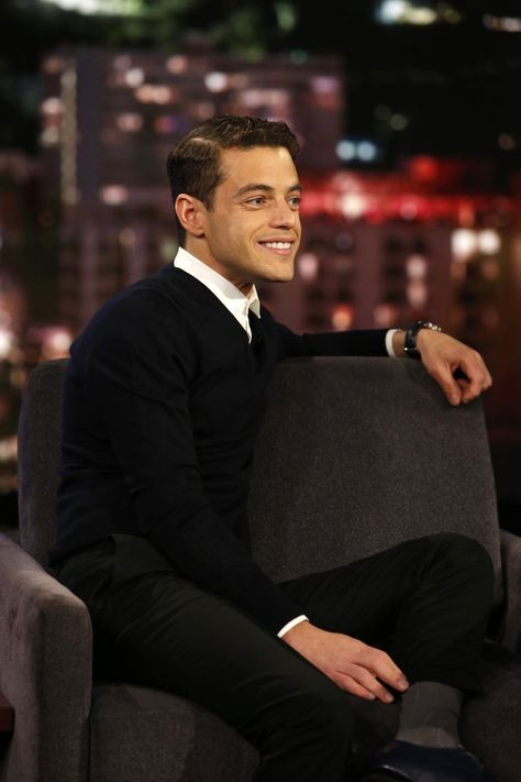 Coverage: Rami Malek on Jimmy Kimmel Live
