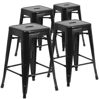 Flash Furniture Metal Bar Counter Stool In 2020 Counter Height Stools Dining Stools Stool