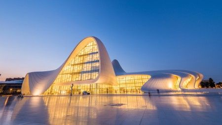 The Most Beautiful Architecture In Baku Azerbaijan Beautiful Architecture Baku City Architecture