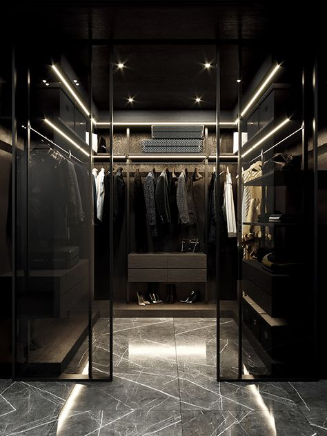 Bedroom Closet Design, Home Room Design, Dream Home Design, Modern House Design, Luxury Bedroom Design, Modern Luxury Bedroom, Modern Architecture House, Modern Bathroom Design, Bathroom Interior Design