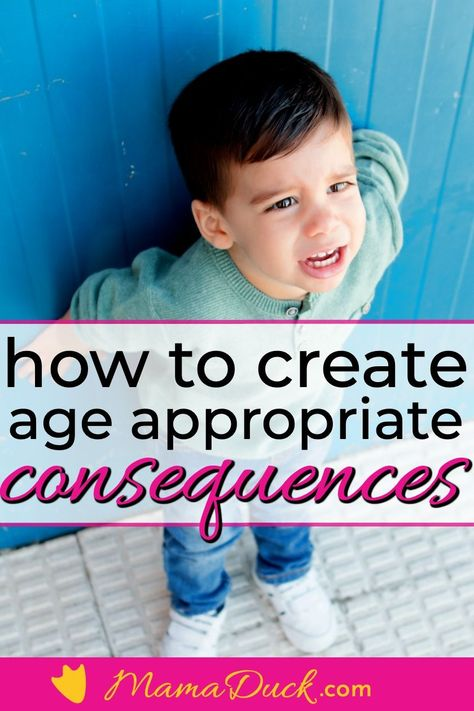 Need a List Of Appropriate Consequences for Bad Behavior?