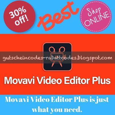 Movavi Video Editor Plus Coupon Movavi Video Editor Plus