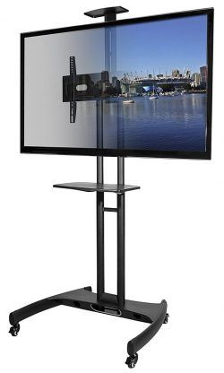 Top 10 Best Rolling Tv Stands In 2020 Tv Stand With Mount