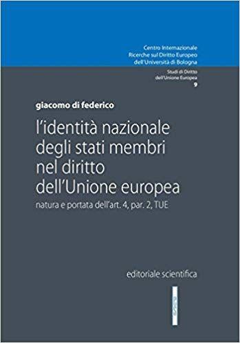 Leggere Online L Identita Nazionale Degli Stati Membri Nel Diritto