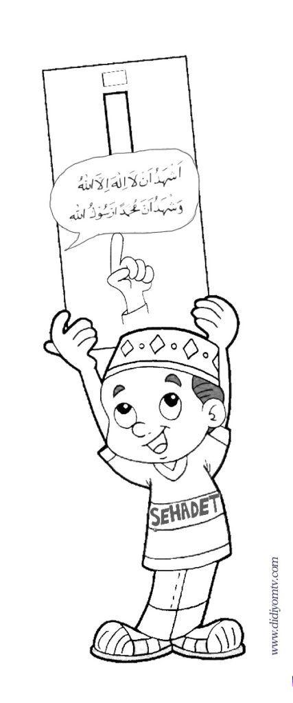 Islamin Sartlari Ve Boyama Sayfalari Islam Dini Alintilar
