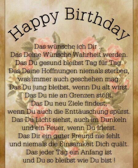 Via Whatsapp 60er Whatsapp Geburtstag Gedicht