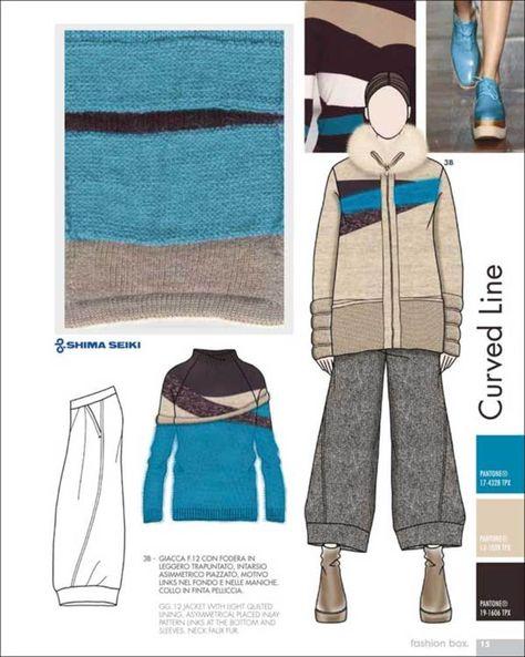 Fashion Box Women's Knitwear - F/W 15/16 - Womenswear - Styling ...knitting inspiration.