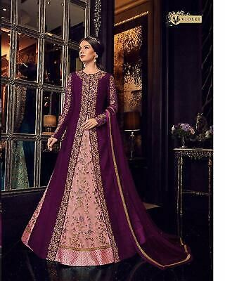 Ebay Advertisement Long Koti Gown Designer Suit Pakistani Pakistani Shalwar Women Eid Party Wear In 2020 Party Wear Dresses Traditional Outfits Designer Gowns