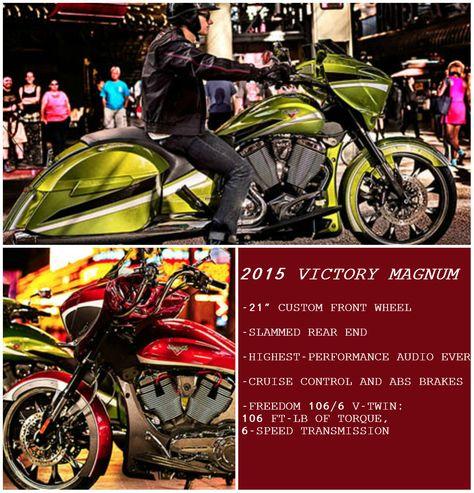 2015 VICTORY MAGNUM MOTORSYKKLE