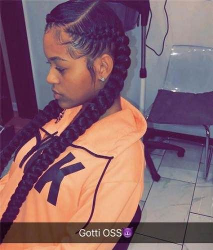 35 Trendy Hairstyles For Kids With Weave Braided Hairstyles Two Braid Hairstyles Weave Hairstyles