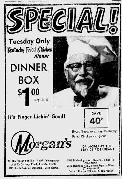 Image result for on the road with colonel sanders