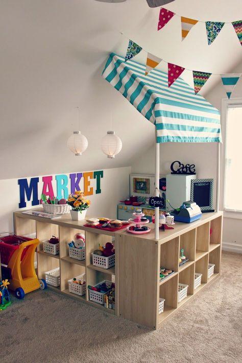 43 stunning playroom ideas for kids 35 # Playroom Organization Children childrenrooms Ideas Kids Playroom playrooms Stunning
