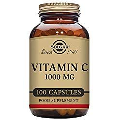 Solgar Vitamin C 1000 100 Vegetable Capsules Vitamin C Is