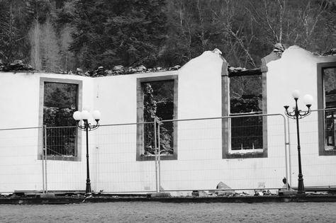 """""""Boleskine House … burned down 23 December 2015 … Filmed very quickly in February 2016"""""""