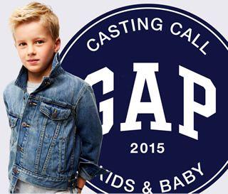 Inscrivez votre enfant pour avoir une chance d'apparaître dans les vitrines des magasins @GapKids en France ! #CastingGap