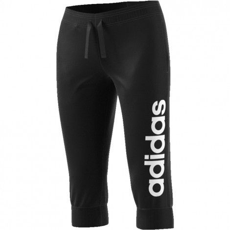 adidas Essentials Linear 3/4 trainingsbroek dames black ...