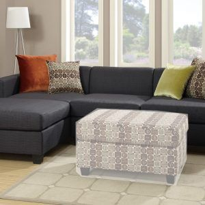 Delightful Reversible Chaise Sectional Sofa