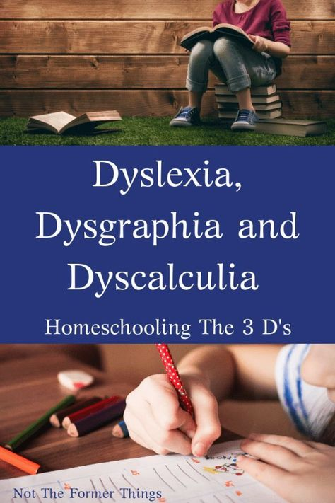 Dyslexia, Dysgraphia and Dyscalculia: Homeschooling The 3 D's - Home Schooling İdeas Learning Tips, Learning Support, Kids Learning, Learning Styles, Dyslexia Teaching, Teaching Kids, Dyslexia Strategies, Teaching Strategies, Dysgraphia