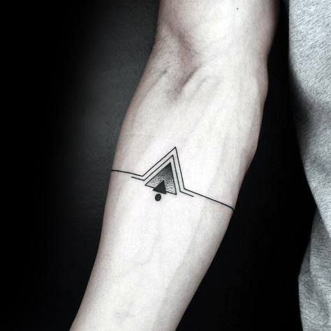 Top 55 Simple Forearm Tattoo Ideas 2020 Inspiration Guide Small Tattoos For Guys Geometric Tattoo Tattoos