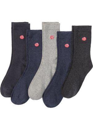800be91aaa837 Женские носки с вышивкой (5 пар), bpc bonprix collection | Купить ...