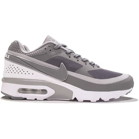 online store b14e8 4d195 Nike Air Max BW Ultra  Cool Grey  (£100) ❤ liked on Polyvore featuring shoes,  grey shoes, nike shoes, gray shoes, lightweight shoes and mesh shoes