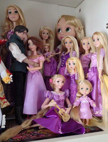 Disney Tangled Rapunzel doll   Lots of Rapunzels, but only o…   Flickr