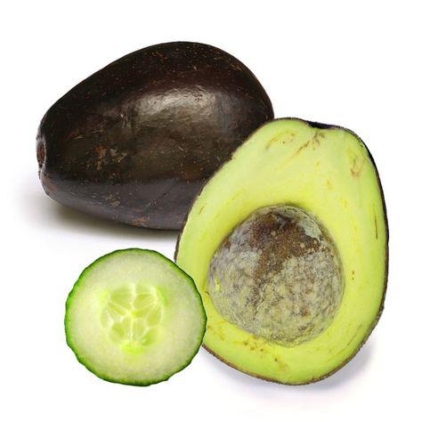 Food Face: DIY Firming Avocado/Cucumber Masque